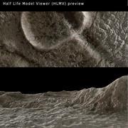 Lunar Surface 3d model