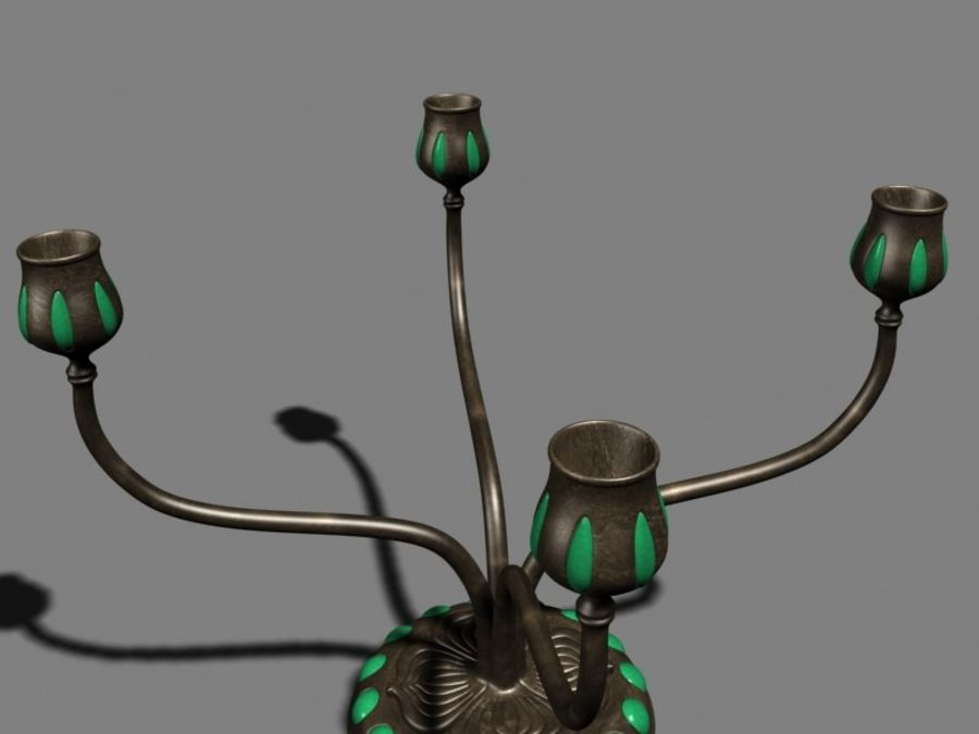 Candelabros royalty-free 3d model - Preview no. 4
