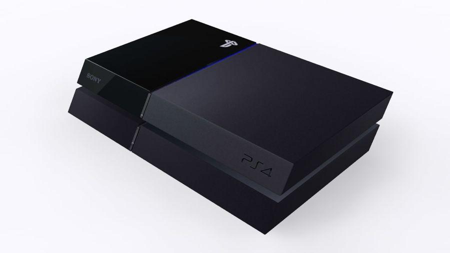 索尼PlayStation 4 PS4 royalty-free 3d model - Preview no. 1