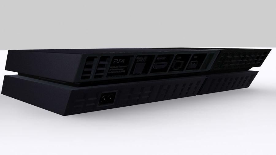 索尼PlayStation 4 PS4 royalty-free 3d model - Preview no. 4
