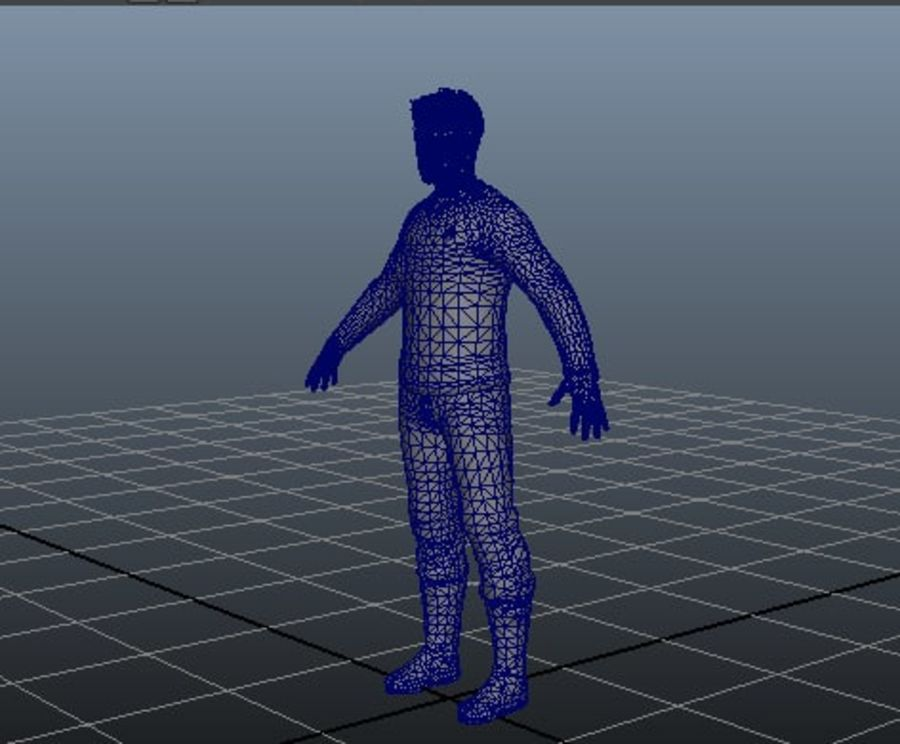 unge royalty-free 3d model - Preview no. 6