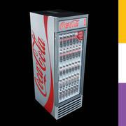 Drinks Fridge Coca-Cola GDMRetro 3d model
