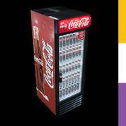 Napoje Lodówka Coca-Cola GDM 3d model