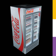 Drinks Fridge Coca-Cola GDMDDRetro 3d model