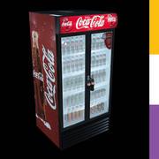 Drinks Fridge Coca-Cola GDMDD 3d model