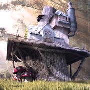 Dom fantasy 3d model