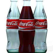 Coca Cola Bottle 3d model