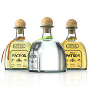 Collection Tequila Patron 3d model