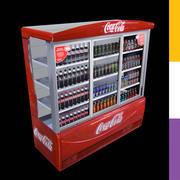 Напитки Холодильник Кока-Кола Ледо 3d model
