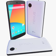 LG Google Nexus 5ホワイトバージョン 3d model