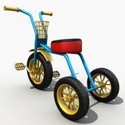 Kinder Dreirad 3d model