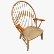 Wegner PP550 Павлинье кресло 3d model