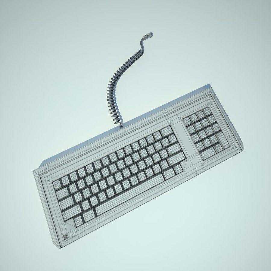 Keyboard Apple Lisa Computer royalty-free 3d model - Preview no. 14