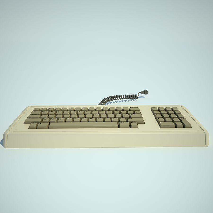 Keyboard Apple Lisa Computer royalty-free 3d model - Preview no. 5