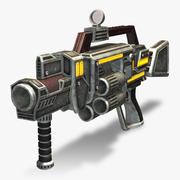 Grenade Launcher (Rigged) 3d model