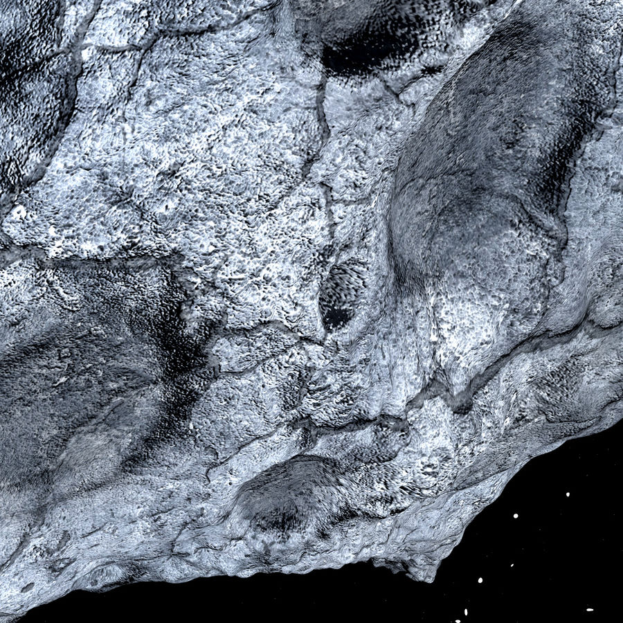 Asteroid royalty-free 3d model - Preview no. 10