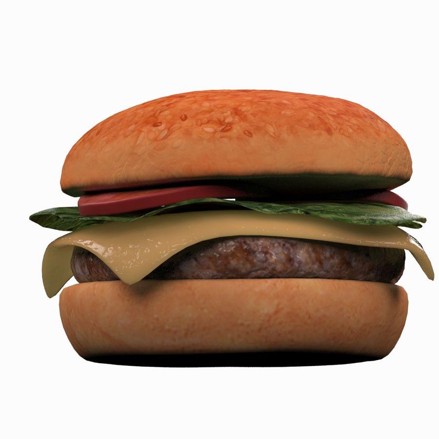 Hamburger royalty-free 3d model - Preview no. 5