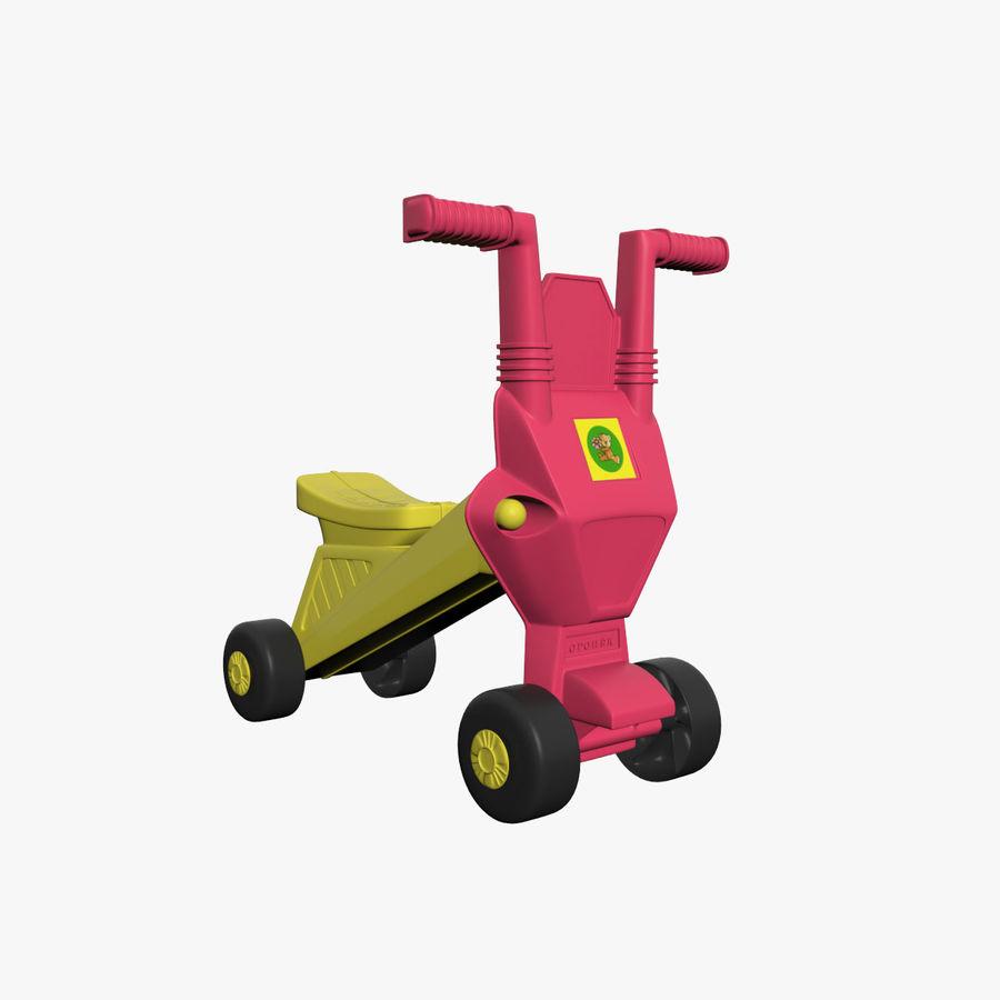 Toy Bike royalty-free 3d model - Preview no. 1