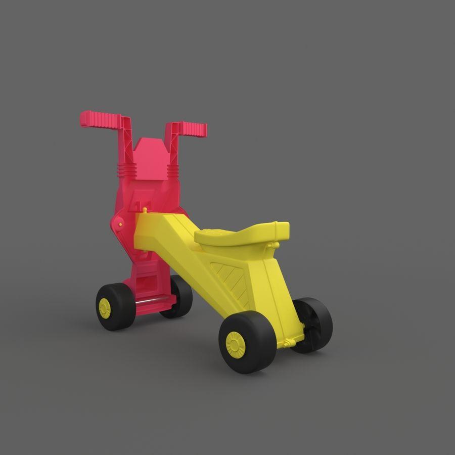 Toy Bike royalty-free 3d model - Preview no. 3