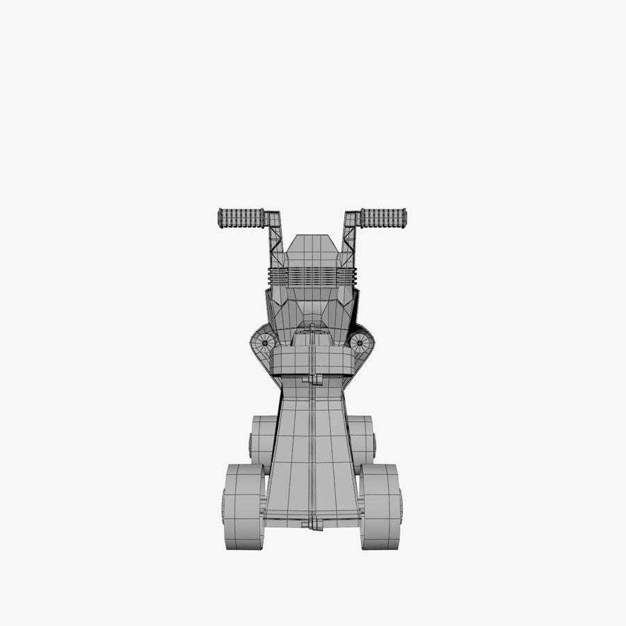 Toy Bike royalty-free 3d model - Preview no. 10