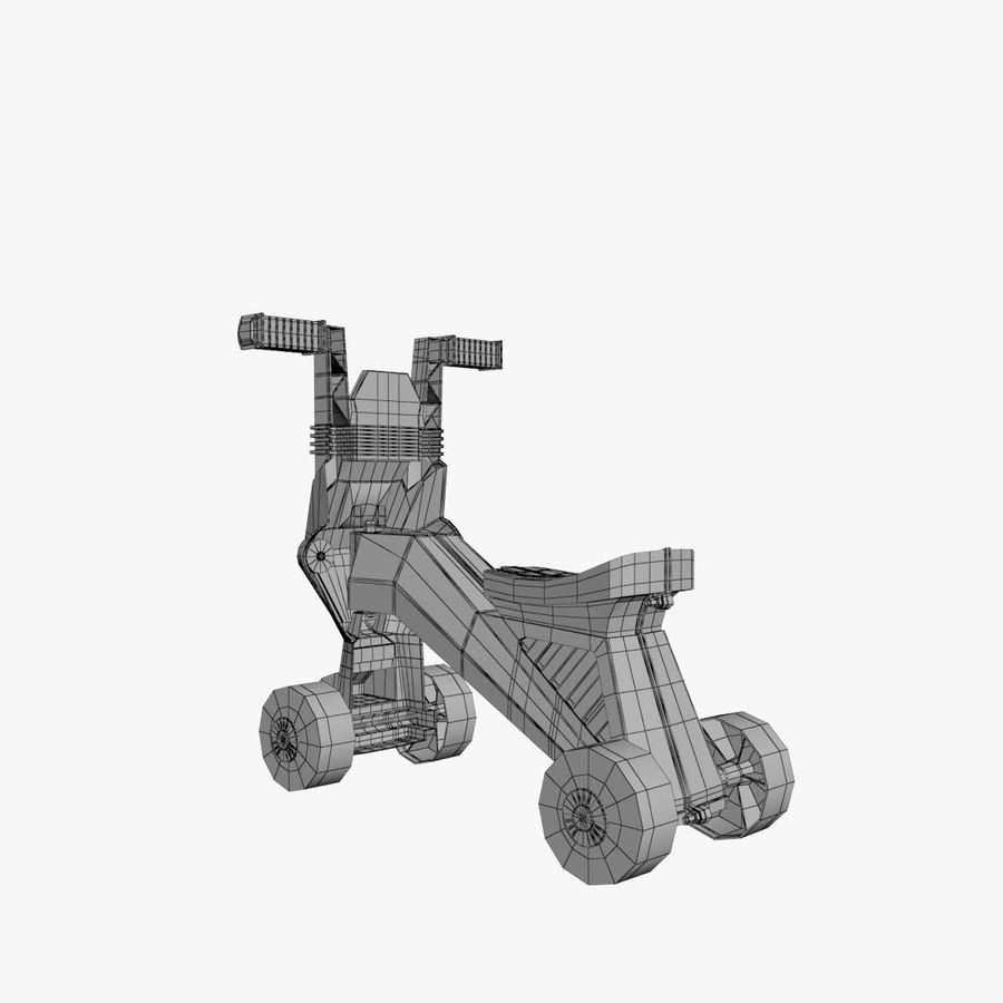 Toy Bike royalty-free 3d model - Preview no. 11