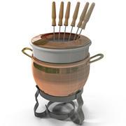 Fondue Pot 3d model