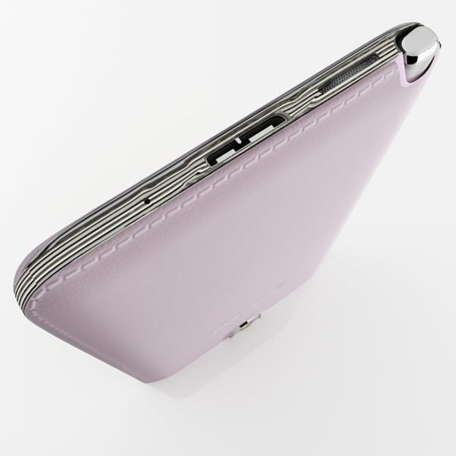 Samsung Galaxy Note 3 Pink royalty-free 3d model - Preview no. 11