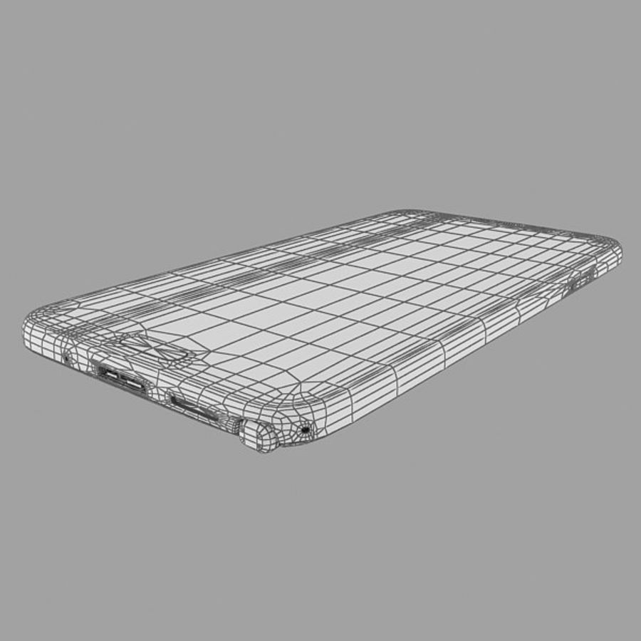Samsung Galaxy Note 3 Pink royalty-free 3d model - Preview no. 16