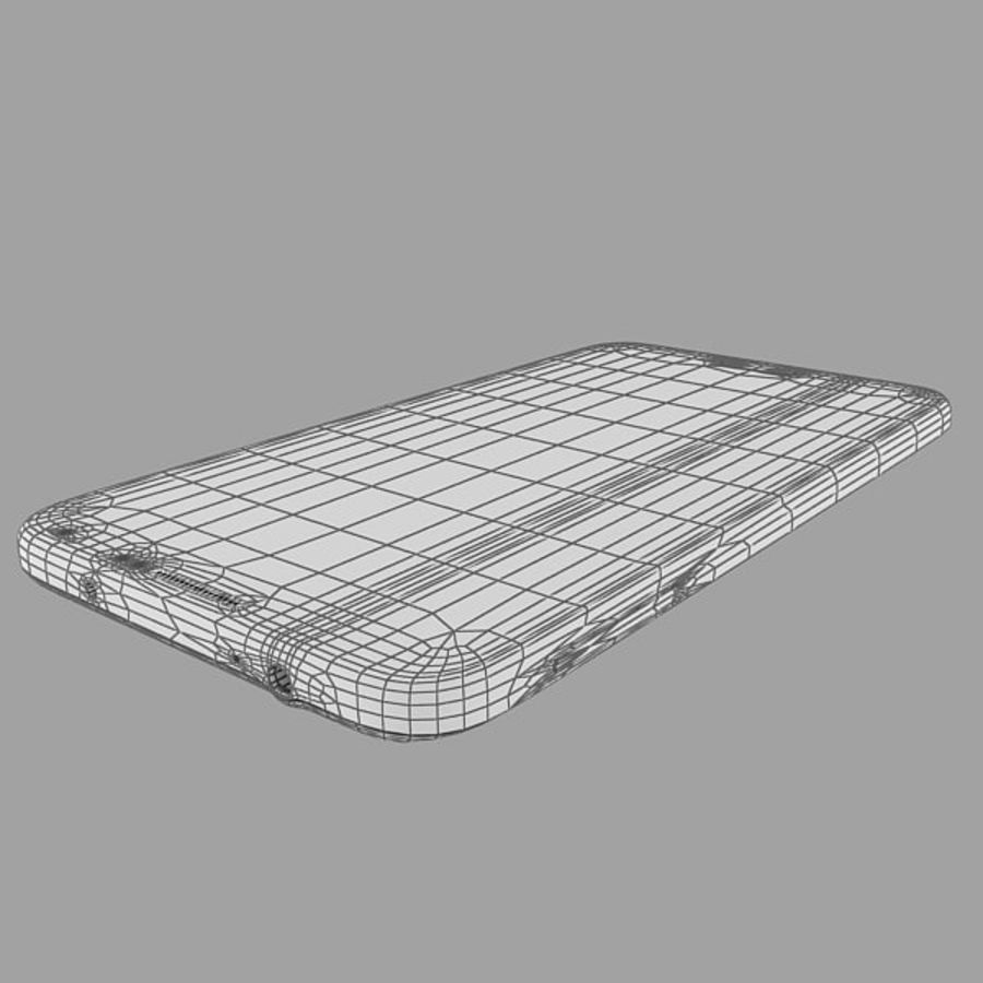 Samsung Galaxy Note 3 Pink royalty-free 3d model - Preview no. 17