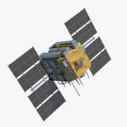 Satelliten-GPS 3d model