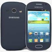 Samsung Galaxy Fame S6810 Bule modelo 3d