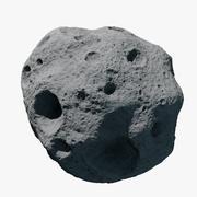 Asteroide 06 modelo 3d