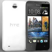 HTC Desire 300白色 3d model