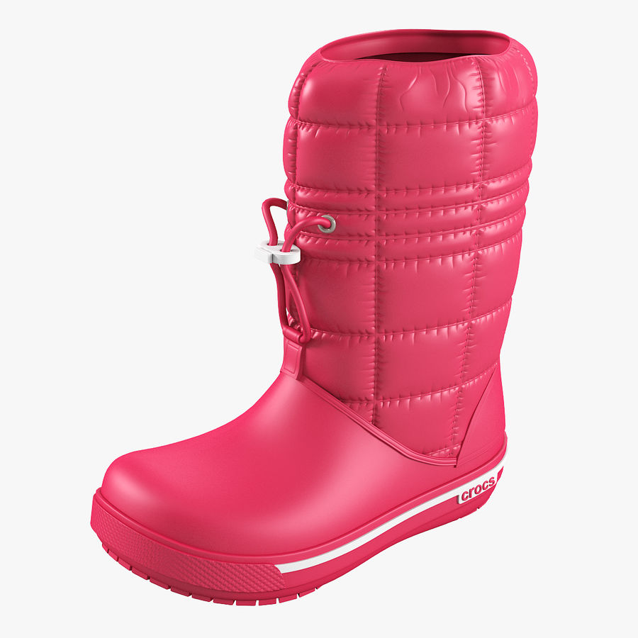 Crocs Women Win Boot royalty-free 3d model - Preview no. 1