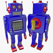 Robot giocattolo 3d model