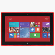 诺基亚Lumia 2520 3d model