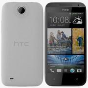 HTC Desire 300 Weiß 3d model