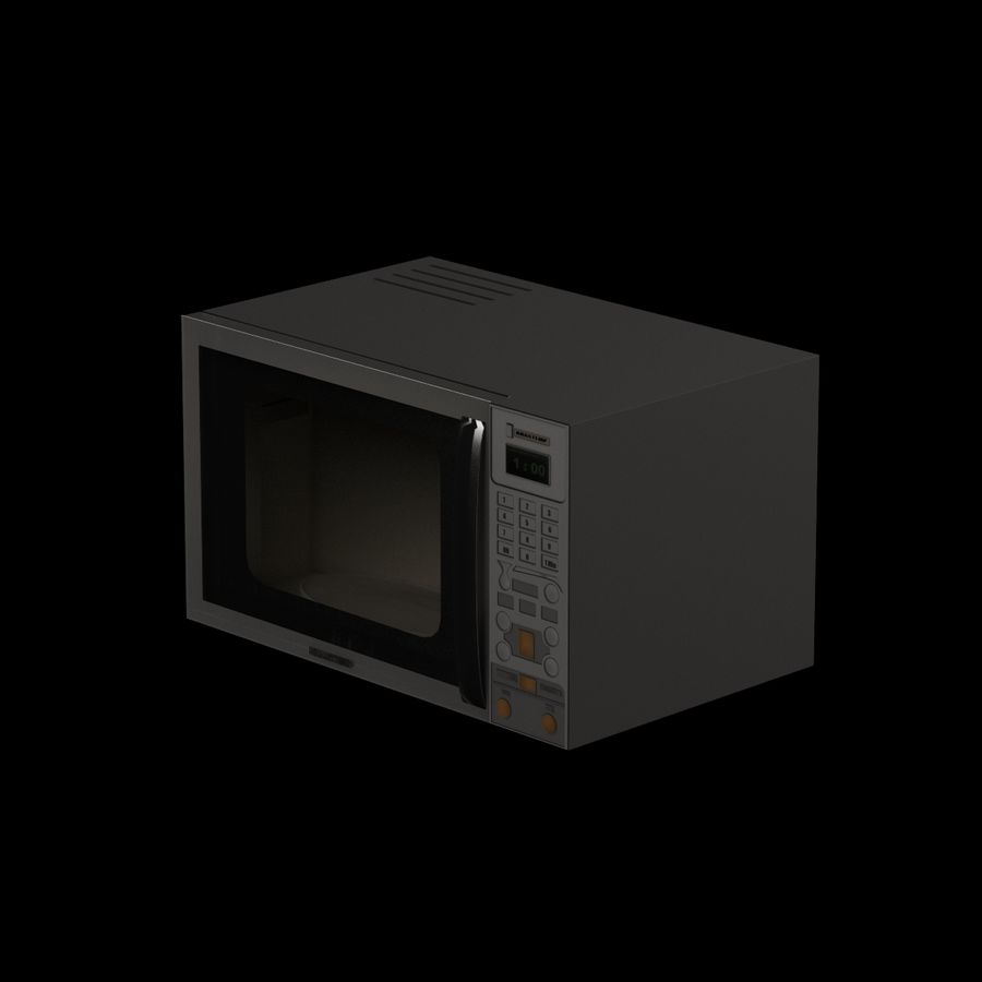 Cucina elettronica 006 royalty-free 3d model - Preview no. 2