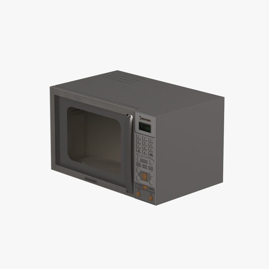 Cucina elettronica 006 royalty-free 3d model - Preview no. 1