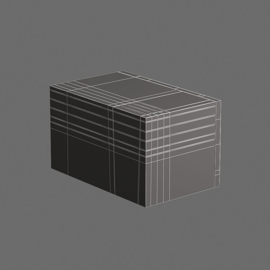 Cucina elettronica 006 royalty-free 3d model - Preview no. 8