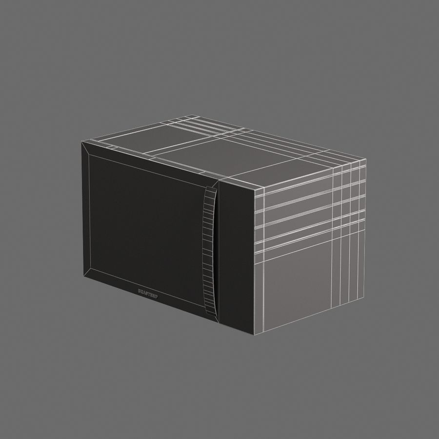 Cucina elettronica 006 royalty-free 3d model - Preview no. 7
