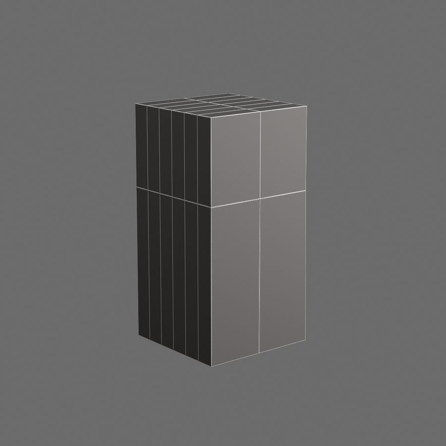 Cucina elettronica 007 royalty-free 3d model - Preview no. 7