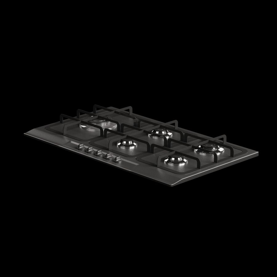 Cucina elettronica 010 royalty-free 3d model - Preview no. 2
