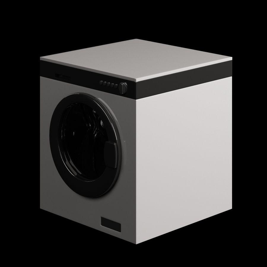 电子洗衣002 royalty-free 3d model - Preview no. 2