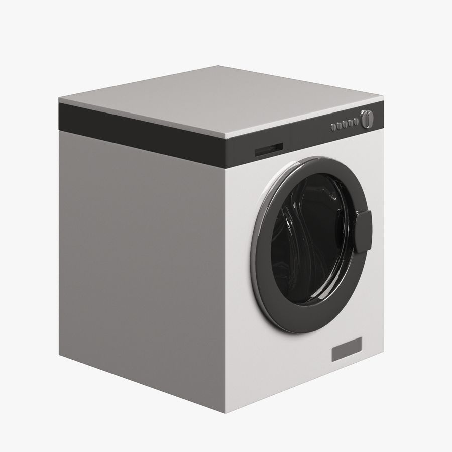 Lavanderia elettronica 002 royalty-free 3d model - Preview no. 4