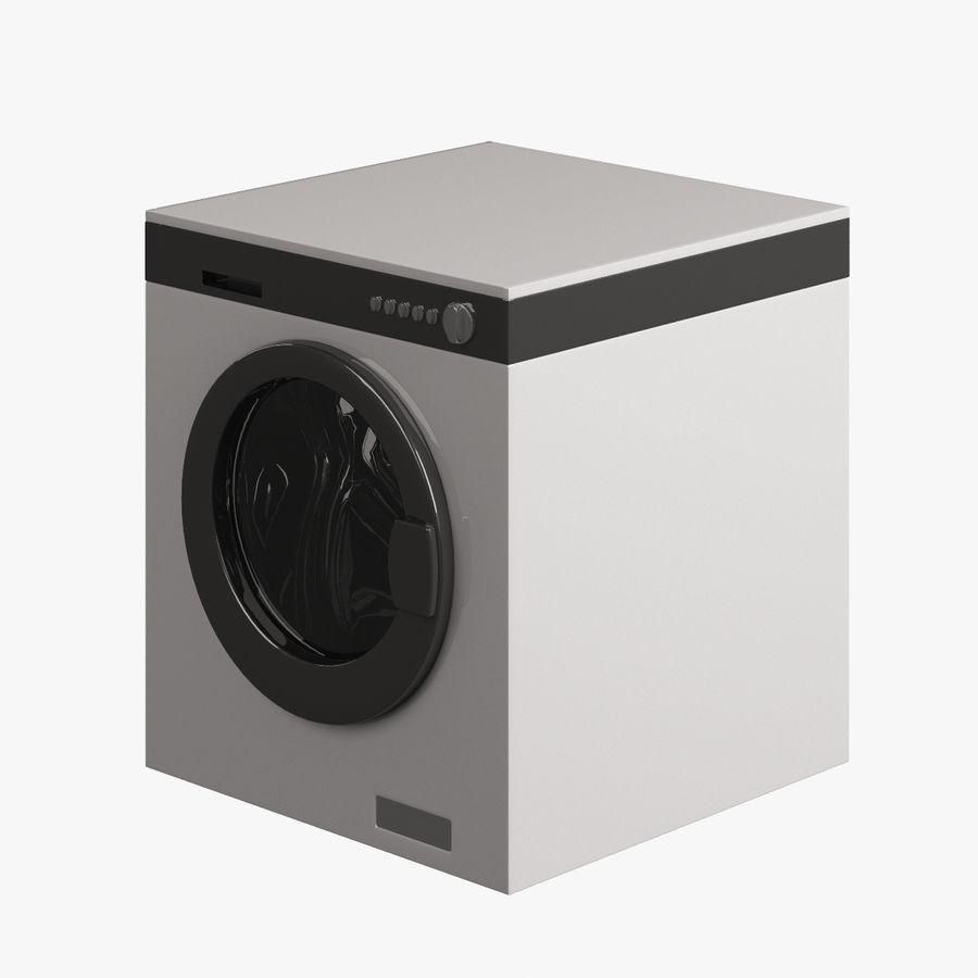 电子洗衣002 royalty-free 3d model - Preview no. 3