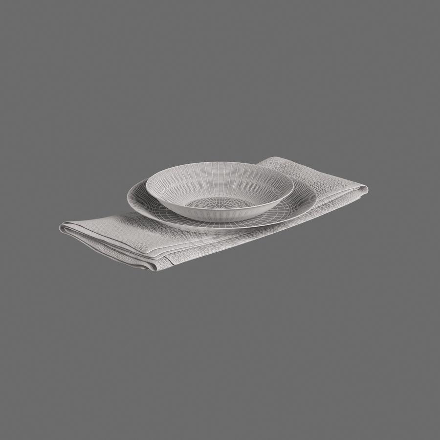 Produzione Cucina 004 royalty-free 3d model - Preview no. 7