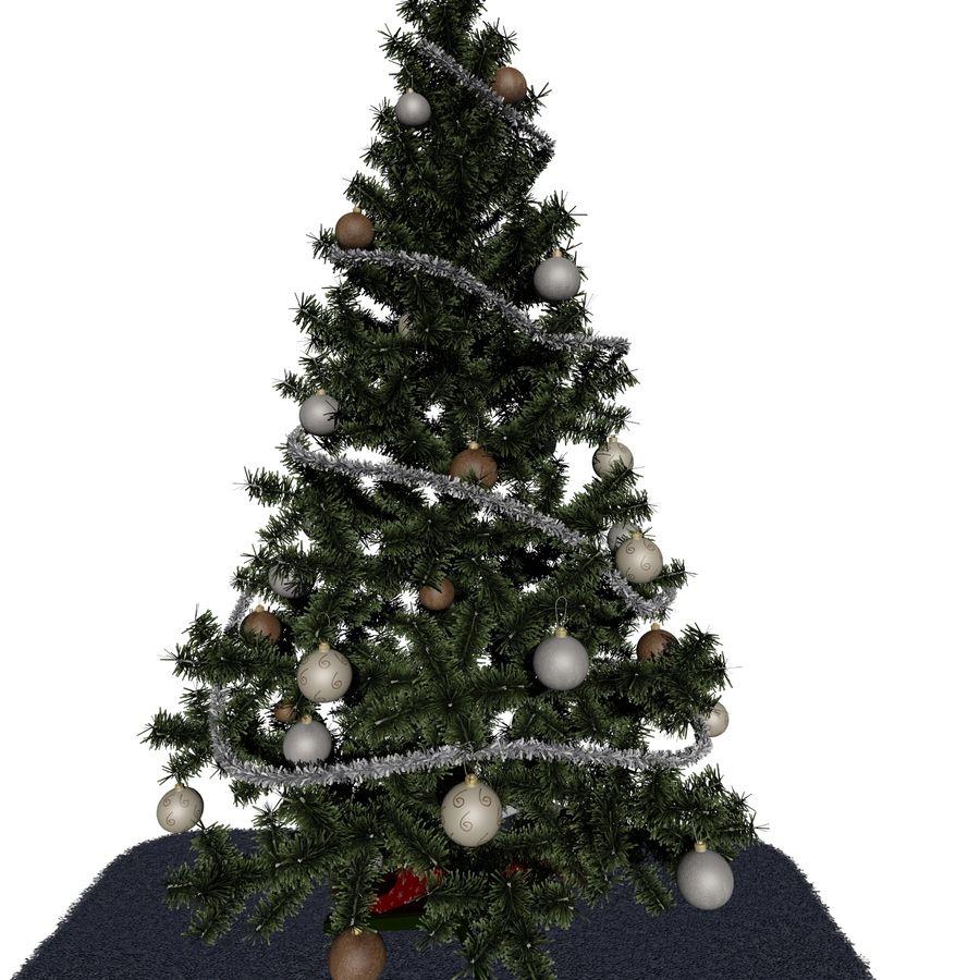 Árvore de Natal royalty-free 3d model - Preview no. 3