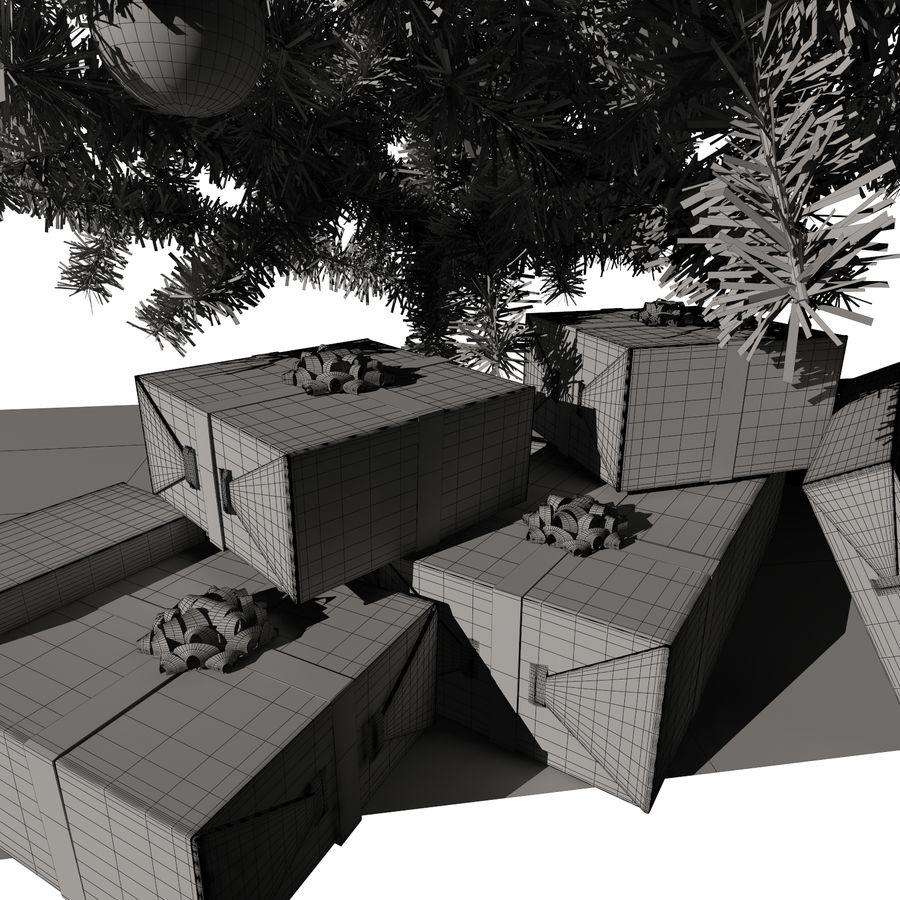 Árvore de Natal royalty-free 3d model - Preview no. 9