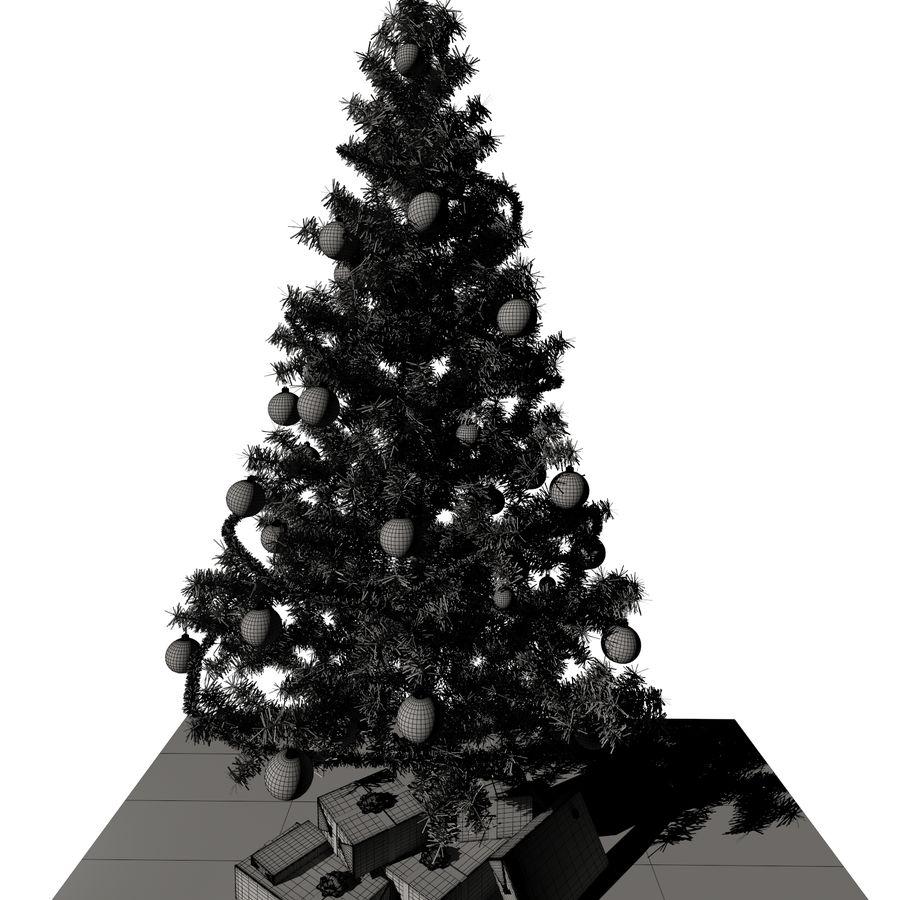 Árvore de Natal royalty-free 3d model - Preview no. 8